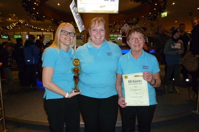 Triopokal Damen - Platz 2 - BC