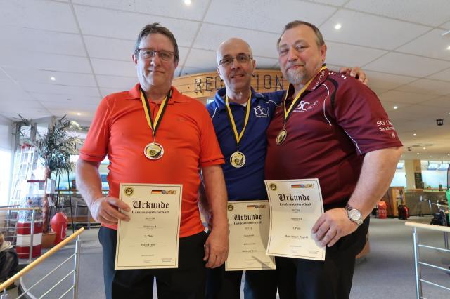 Platz 1: Dietmar F�hlisch Platz 2: Peter Friese Platz 3: Hans-J�rgen Dippold